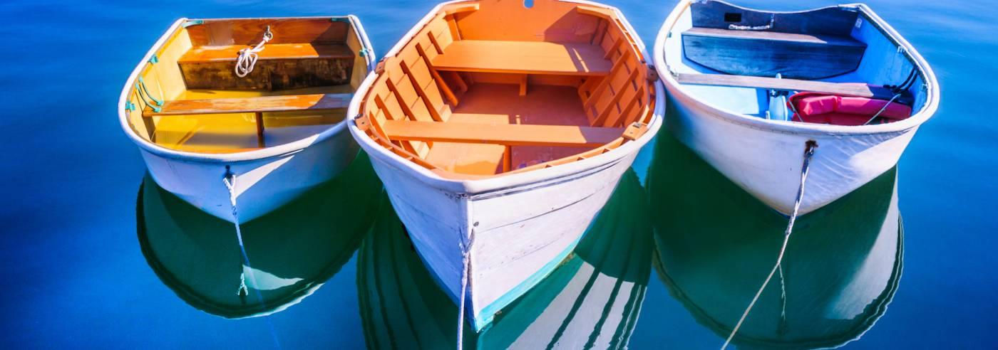 Beautiful Cape Cod Row Boats