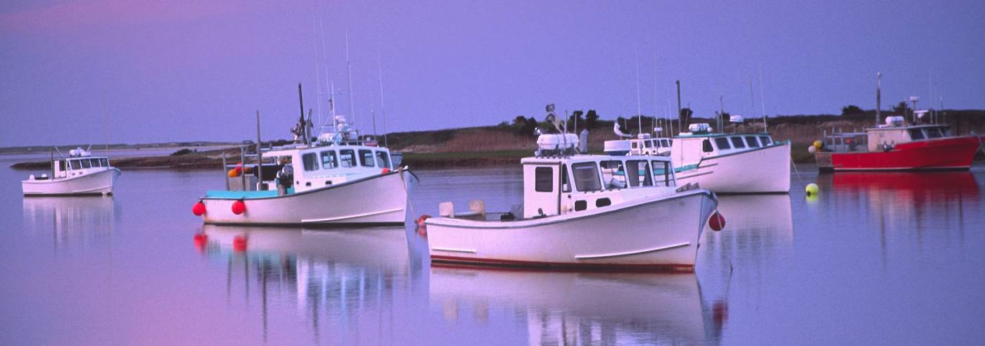 Marvelous Cape Cod Fishing Boats